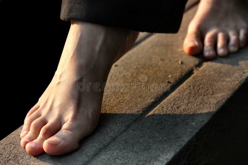 voet royalty-vrije stock fotografie