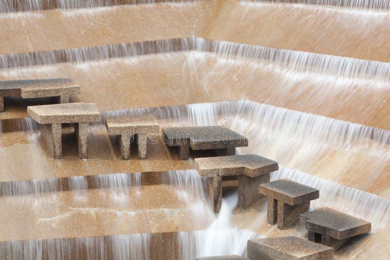 Voet met een waarde van de Tuinen van het Water royalty-vrije stock foto