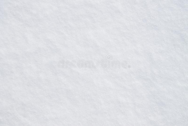 Voetafdrukken in de sneeuw stock foto