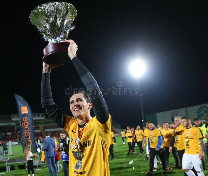 "Voetbal †""ASTRA GIURGIU versus DINAMO BUCURESTI royalty-vrije stock foto"