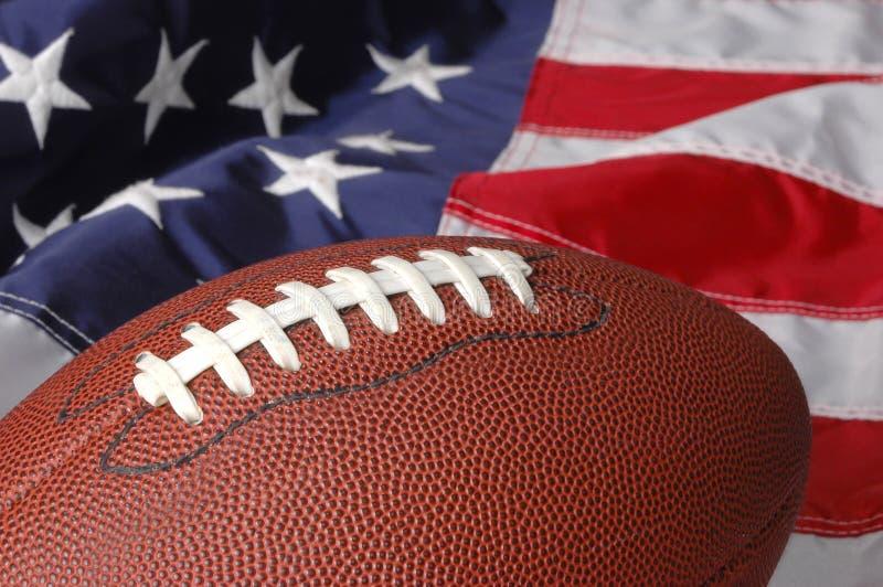 Voetbal in Amerika stock afbeeldingen