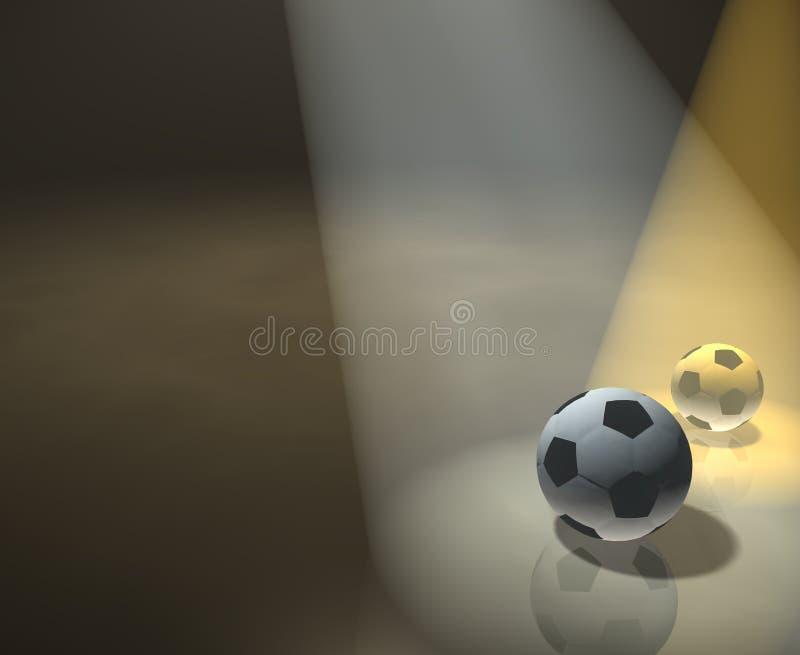 Voetbal, bal, royalty-vrije stock foto