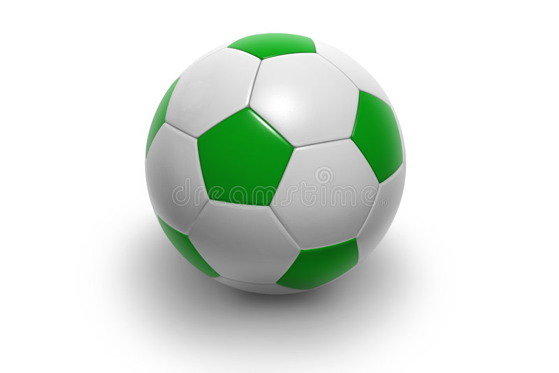 Voetbal ball3 stock illustratie