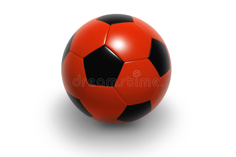Voetbal ball4 vector illustratie
