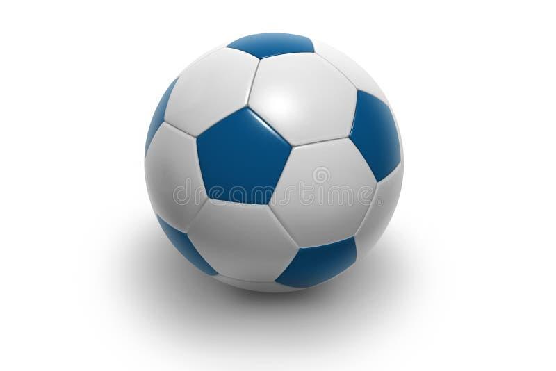 Voetbal ball6 stock illustratie