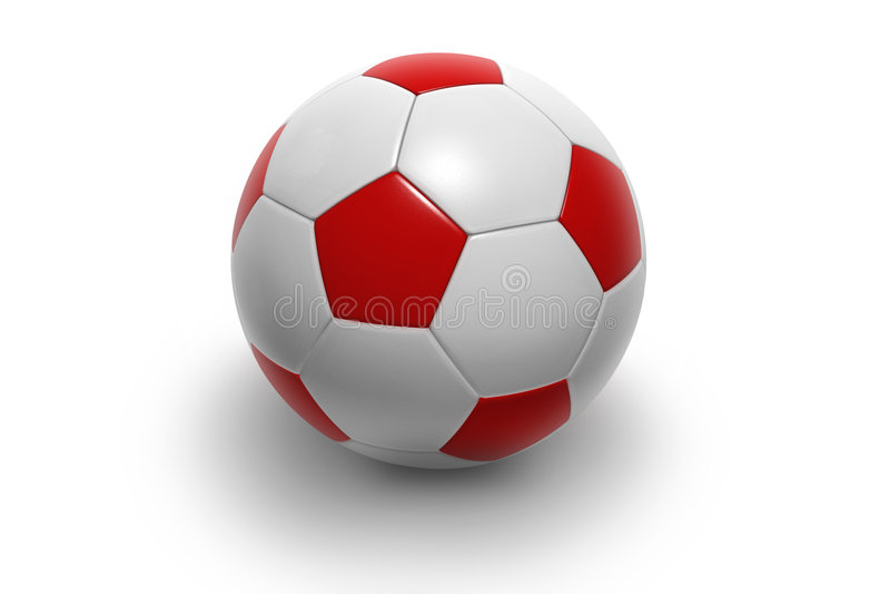 Voetbal ball9 stock illustratie