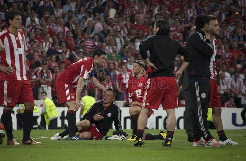 Voetbal: Def. 2010 van de kampioenenliga stock foto's
