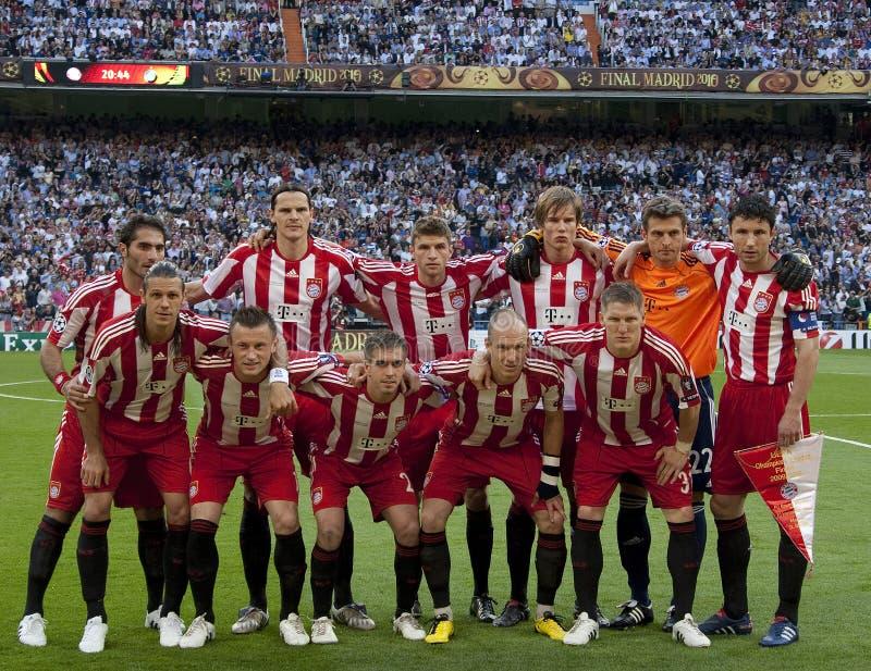 Voetbal: Def. 2010 van de kampioenenliga royalty-vrije stock afbeeldingen