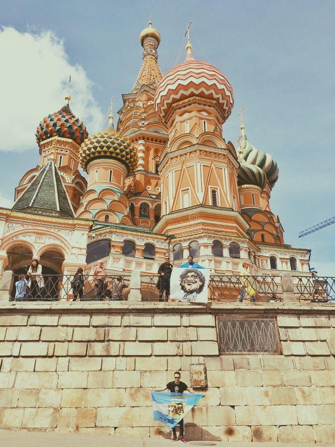 Voetbal Rusland Fifa 2018 Wereldkampioenschap royalty-vrije stock foto