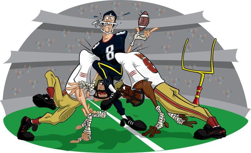 Voetbal Spoed#1 vector illustratie