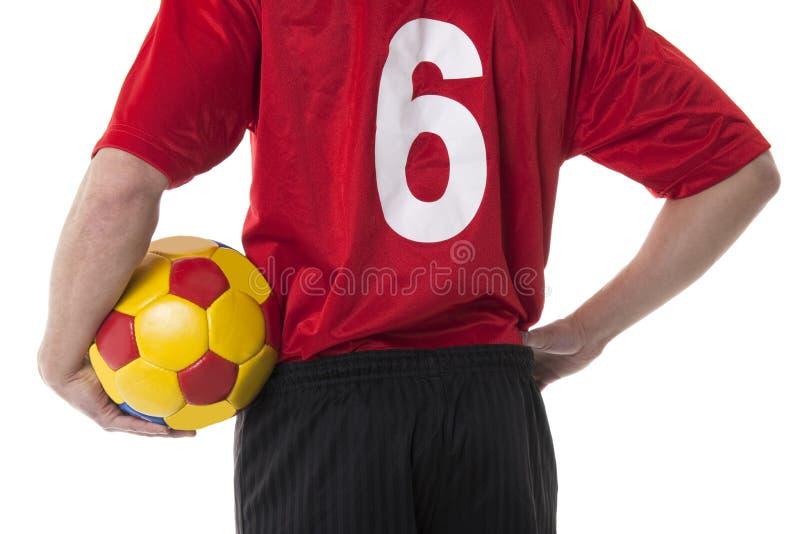 Voetbal/Voetbalster stock foto's