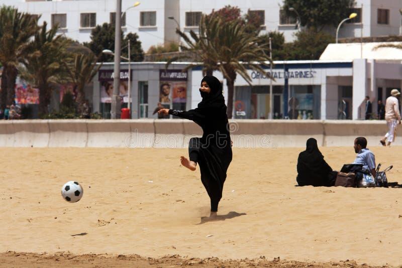Voetbal zonder grenzen voor allen stock fotografie