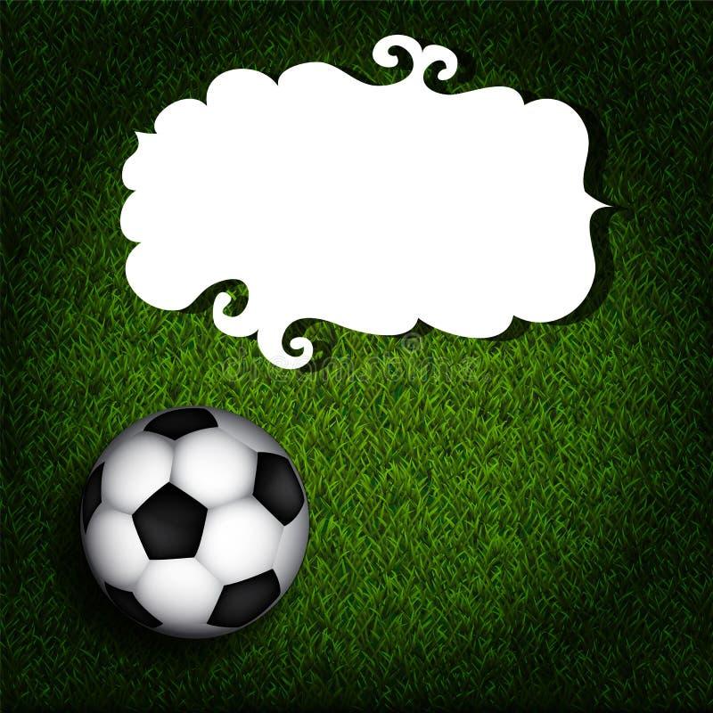 Download Voetbalbanner vector illustratie. Illustratie bestaande uit element - 39112051