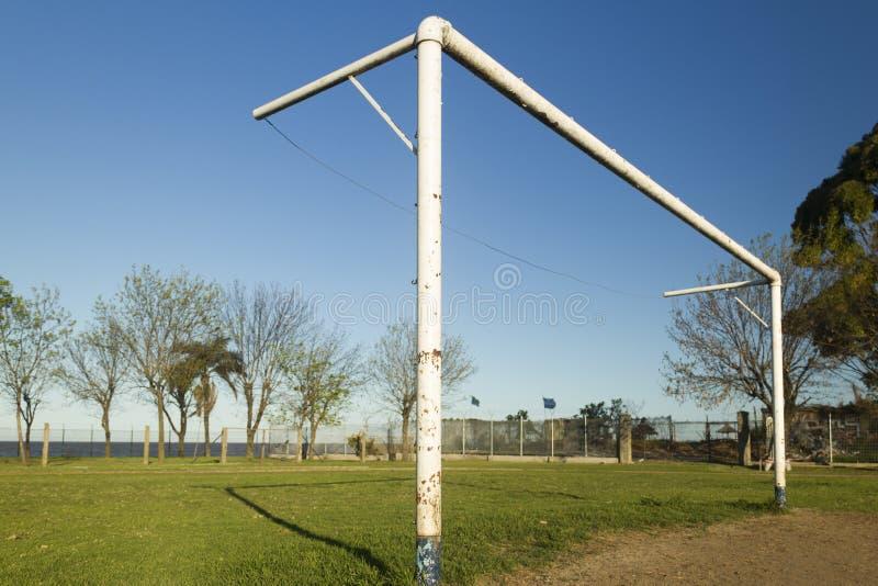 Voetbalboog stock foto