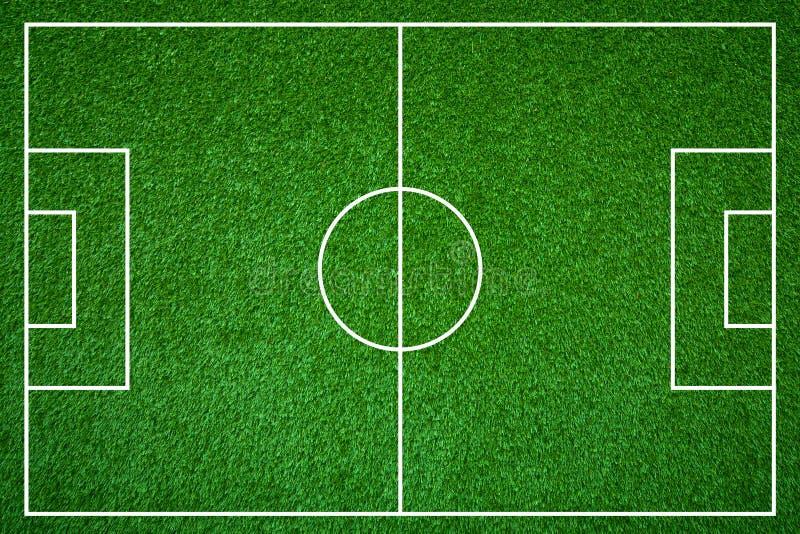 Voetbalgebied stock illustratie