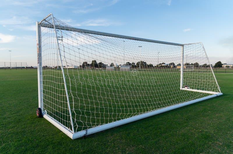 Voetbalgebied in Shepparton, Australië stock foto