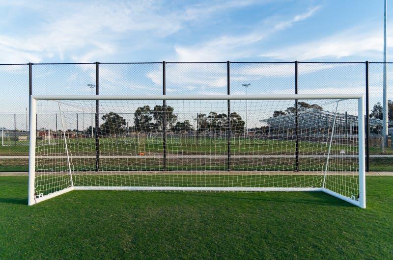 Voetbalgebied in Shepparton, Australië stock fotografie