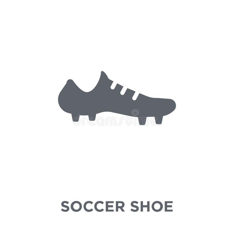 Voetbalschoenpictogram van Klereninzameling stock illustratie