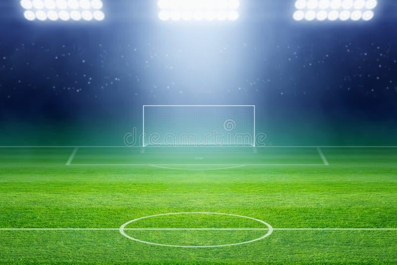 Voetbalstadion stock fotografie