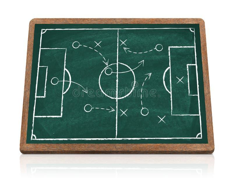Voetbalstrategie stock fotografie