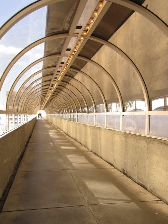 Voetbrug, Van de binnenstad, Atlanta royalty-vrije stock foto