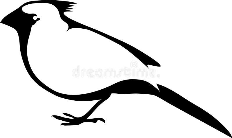 Vogel-02 stock illustratie