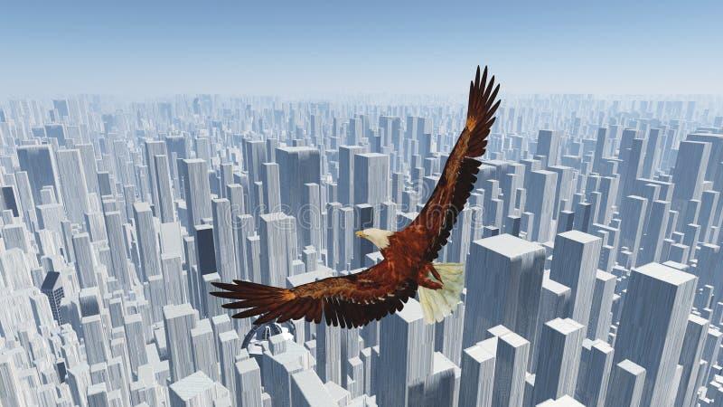 Vogel der Freiheit vektor abbildung