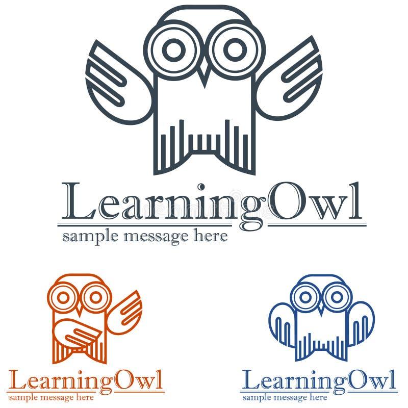 Vogel-Logo stock abbildung