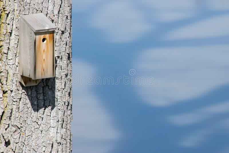 Vogel-Nistkasten stockfotografie
