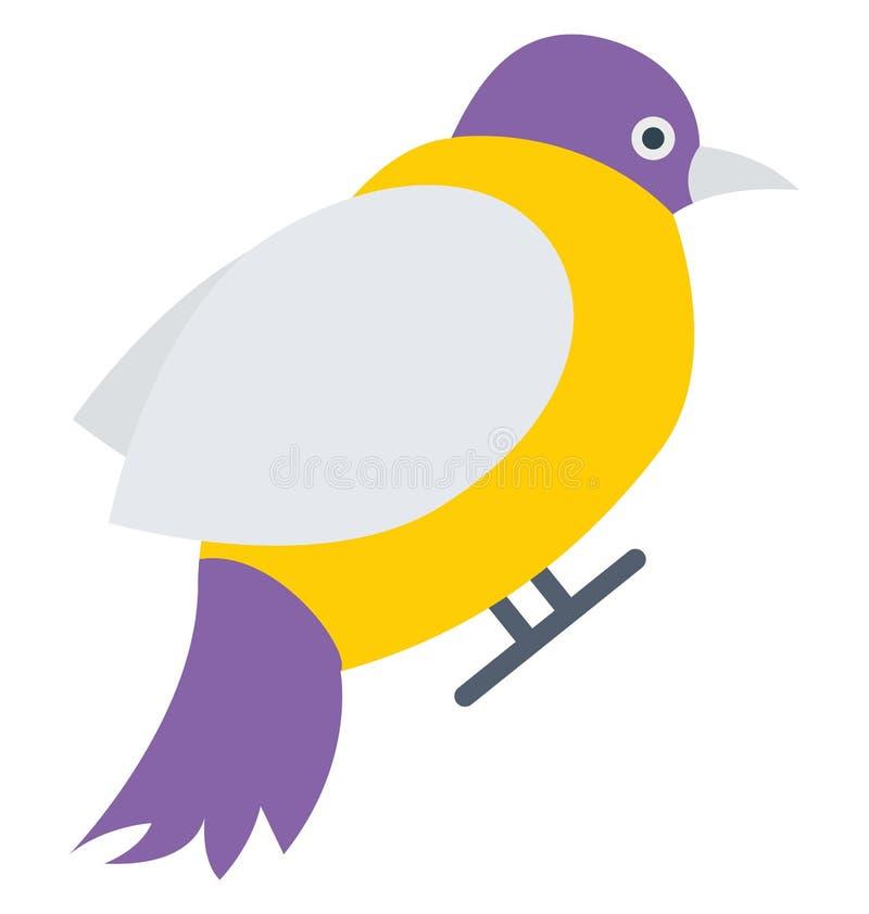 Vogel, Taube Vektor-Ikone, die leicht geändert werden oder redigieren kann vektor abbildung