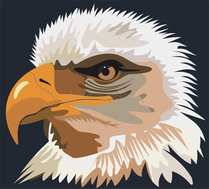 Vogeladler lizenzfreie abbildung