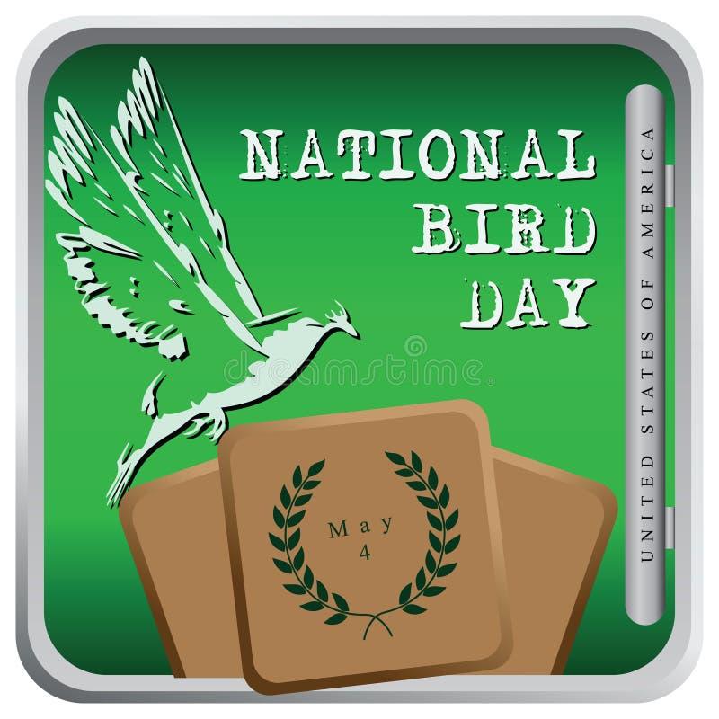 Vogeldag - de Verenigde Staten van Amerika stock illustratie