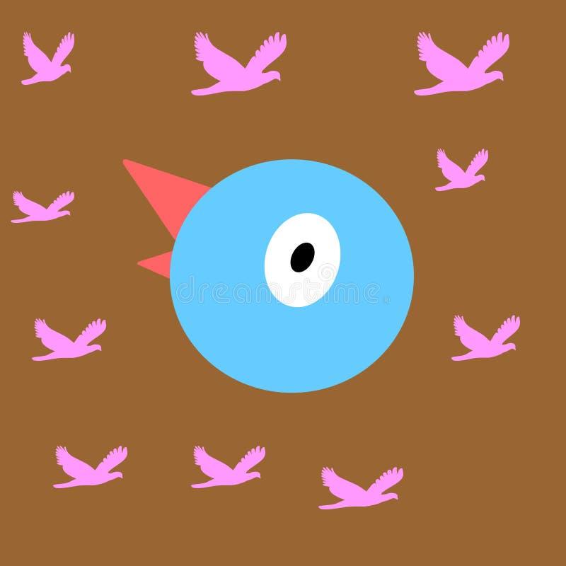 Vogelgezicht stock afbeeldingen