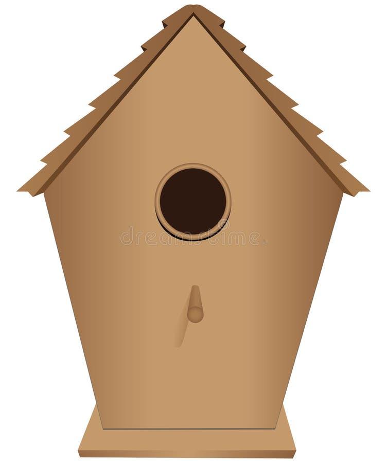 Vogelhuis stock illustratie