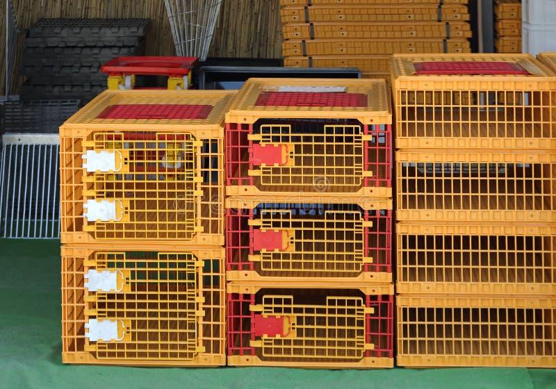 Vogelkooien stock fotografie