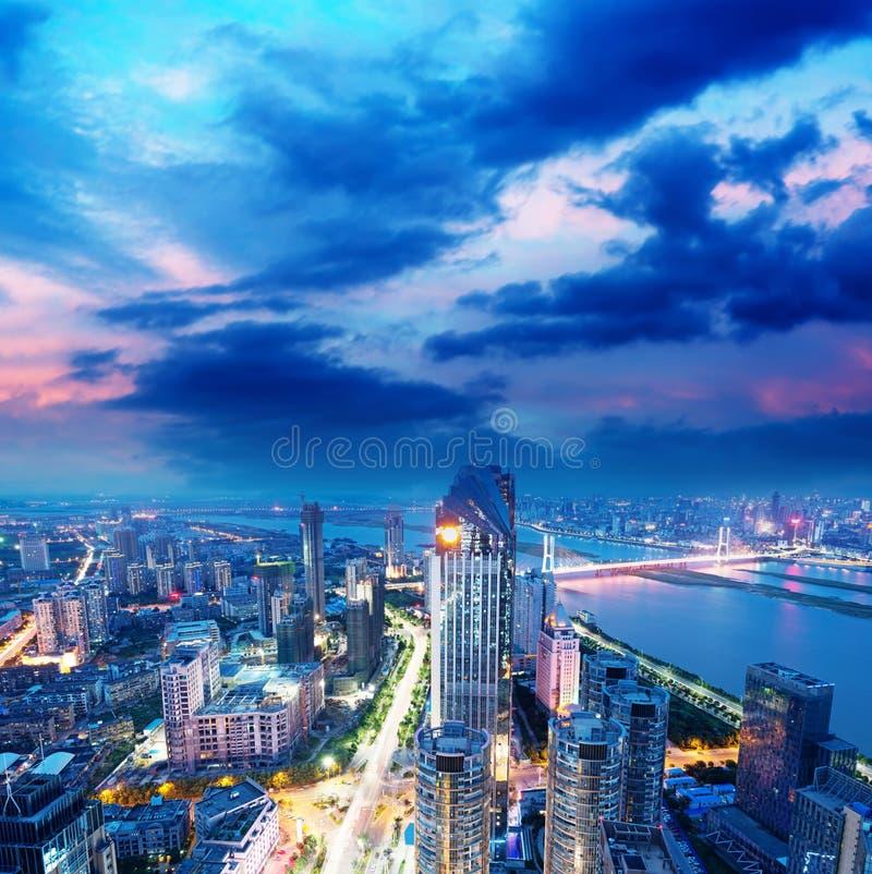 Vogelmening in Nan-Tchang China. royalty-vrije stock afbeeldingen