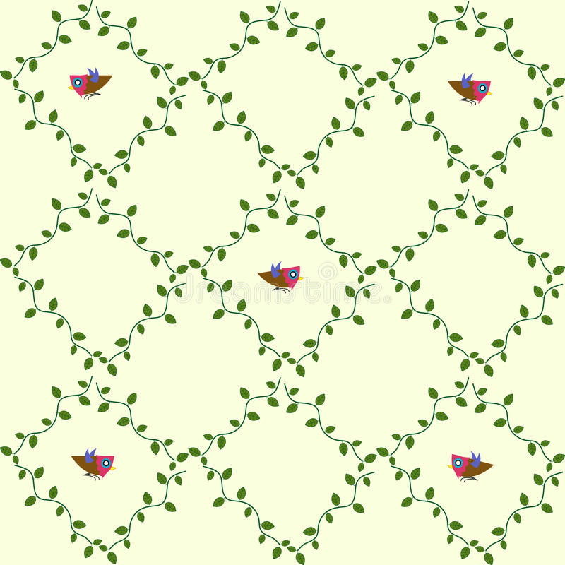 Vogelmuster stockbilder