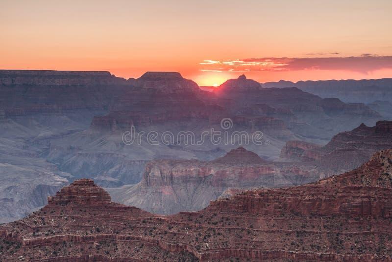 Vogelperspektive des Nationalparks des Grand Canyon, Arizona stockbild