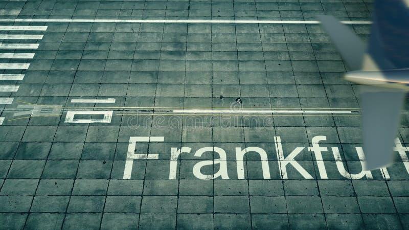 Flughafen Frankfurt Ankommt