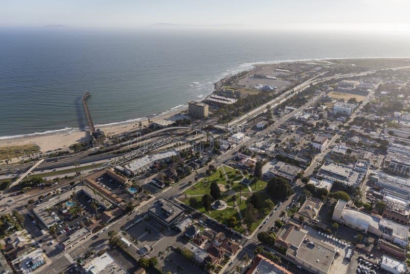 Vogelperspektive von Ventura California lizenzfreies stockbild