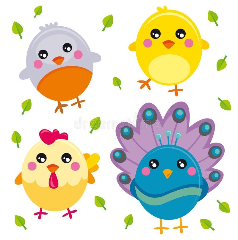 Vogels royalty-vrije illustratie