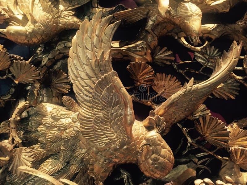 Vogels die hun vleugels uitspreiden, stock fotografie