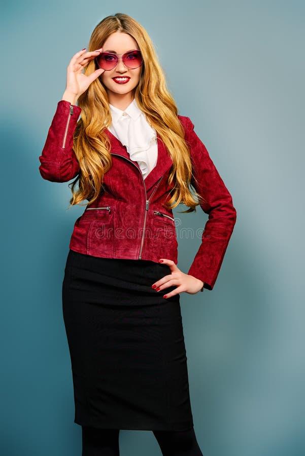 Vogue-Modell stockbilder