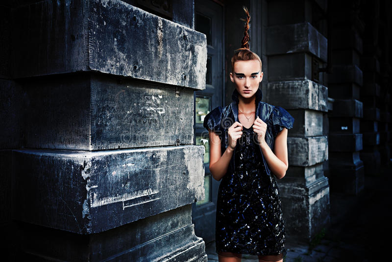 Vogue Woman Stock Images