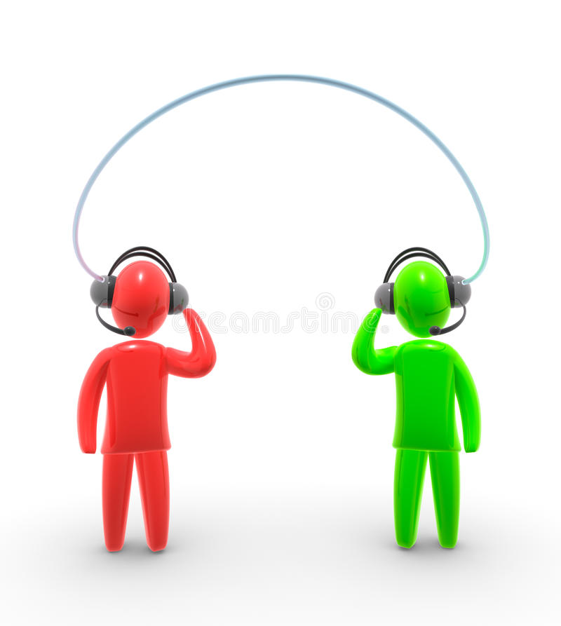 Download Voice over IP stock illustration. Image of calling, cooperation - 10341676