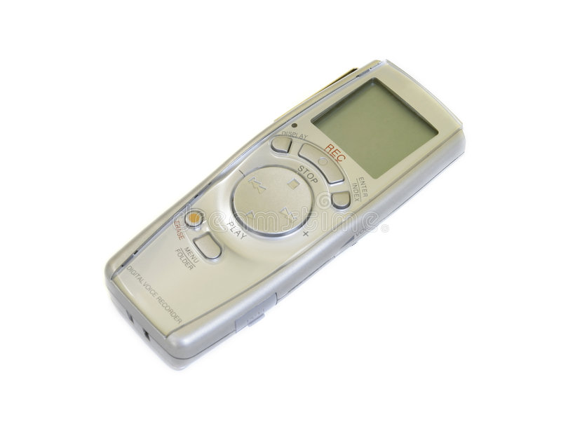 Voice Recorder stock photography