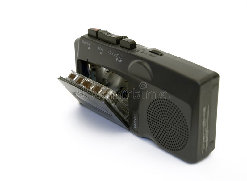 Voice Tape Recorder royalty free stock images
