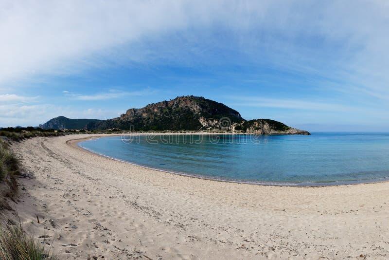 Voidokoilia strand, Grekland arkivbilder