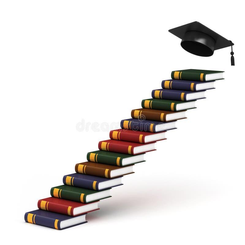 Voie à la graduation illustration de vecteur