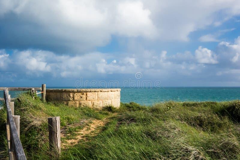 Voie d'accès de roseau des sables photos libres de droits